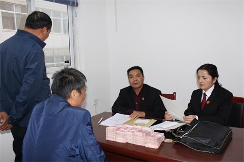 兴平法院:耐心释法促和解,当场履行化干戈