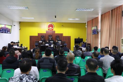 陆川法院开庭审理陆川县首起环境保护刑事附带民事公益诉讼案件