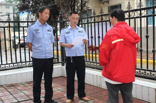 """兴平法院:拘留法盲""""老赖"""" 维护公平正义"""