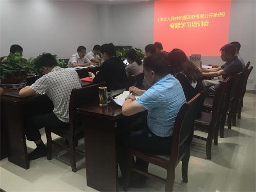 肥西县经信局三举措扎实推进政务公开工作
