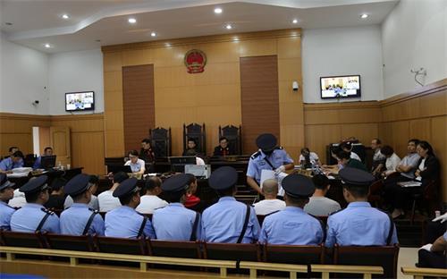 永寿县人民法院公开审理首例涉恶案件