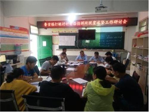 贞丰县鲁贡镇打嫩村开展人居环境文明整治行动